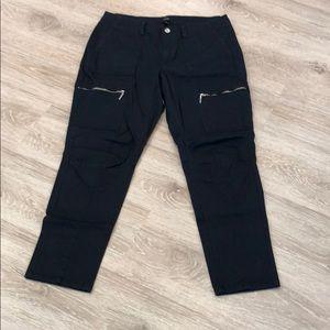 White House Black Market Pants - White House Black Market WHBM Size 10 Black Pants